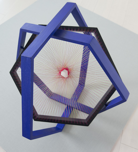 , 'Hexagono 3D II azul ultramar,' 2014, Art Nouveau Gallery