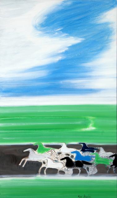 , 'Courses devant la mer ,' 1991, Opera Gallery