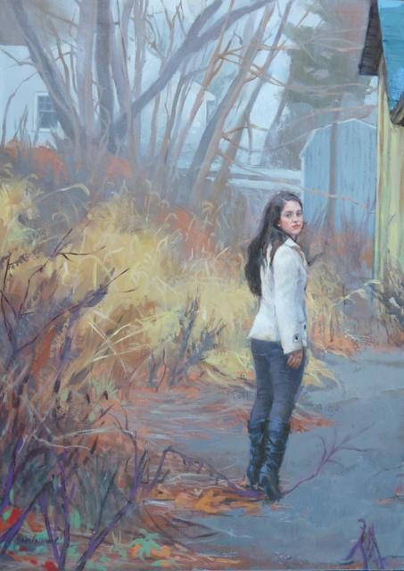 , 'Looking Back,' 2015, Sorelle Gallery Fine Art