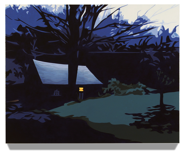 , 'Barn at Dusk,' 2014, Salomon Contemporary