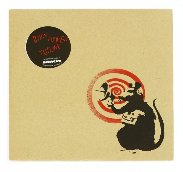 After Banksy, 'RADAR RAT VINYL (RED/BROWN)', 2008, Sworders