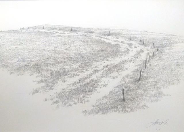 , 'Stolen Hill (Part 6),' 2017, Somerville Manning Gallery