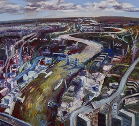 John Hartman, 'The Thames Looking Down River,' 2006, Waddington's: Concrete Contemporary