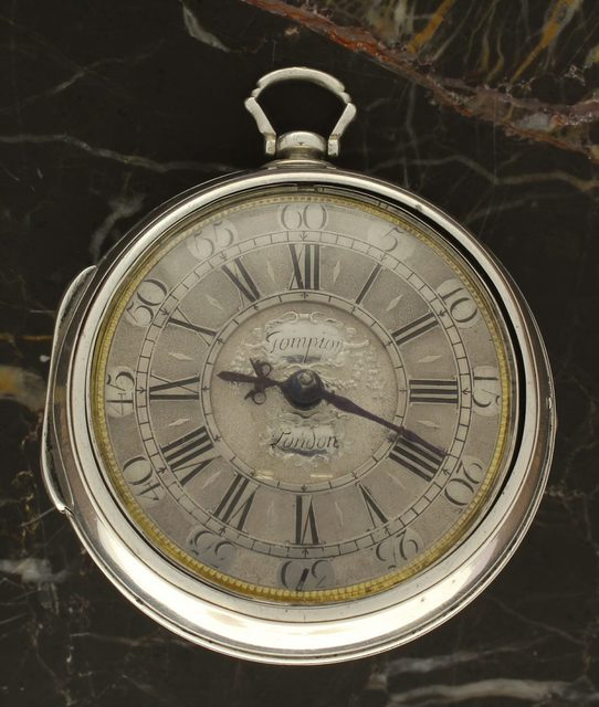 , 'Silver, Pair Cased Verge Pocket Watch,' ca. 1710, Somlo London