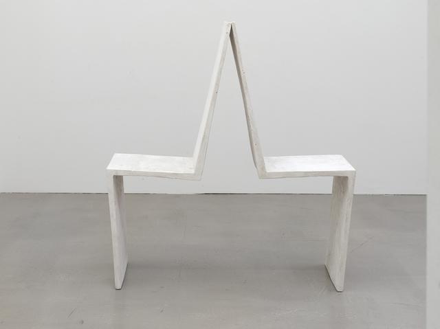 , 'An einander gelehnt (Leaning against each other),' 1992, Kadel Willborn