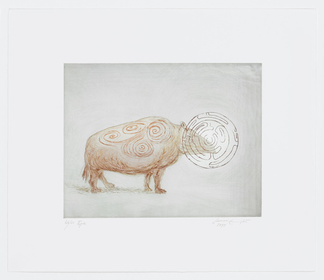Leonora Carrington, 'Tapir', 1998, Graphicstudio USF