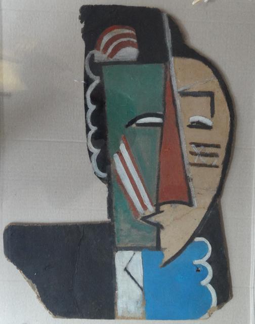 """, 'Projet de masque pour """"Les Mamelles de Tirésias"""", recto-verso,' 1916-1917, Galerie Le Minotaure"""