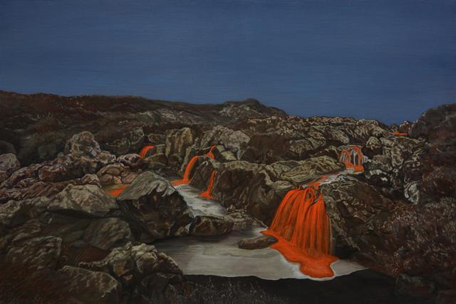 , 'Waterfall,' 2018, A2Z Art Gallery