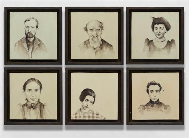 , 'Bedlam' Case Studies,' 2017, Mall Galleries