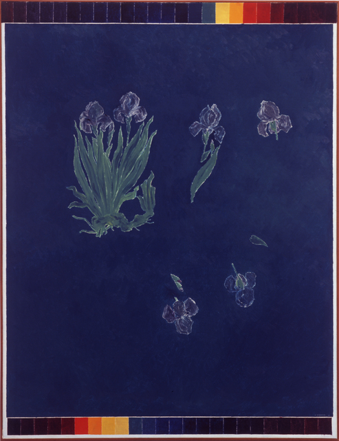 Kazuo Nakamura, 'In Space, Blue Irises', 1967, Christopher Cutts Gallery