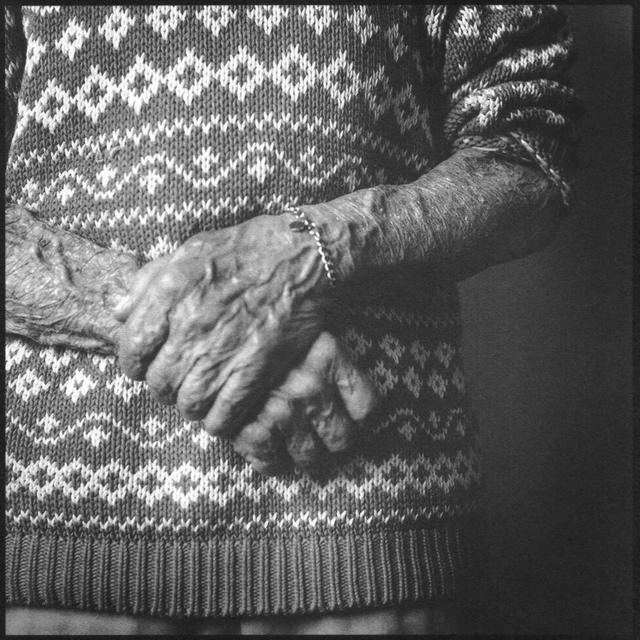 Denise Oehl, 'Dad's Hands', 2018, John Davis Gallery