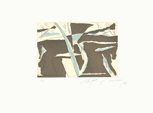 Albert Ràfols-Casamada, 'Estiu-4', 1988, Sylvan Cole Gallery