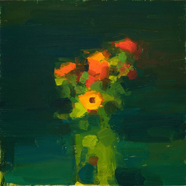 , 'Zinnias,' 2017, Somerville Manning Gallery