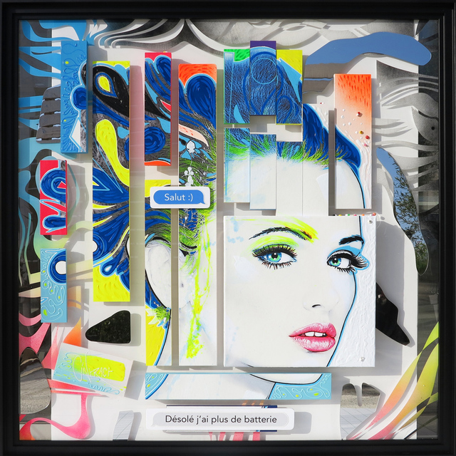 David Cintract, '3084', 2018, Snow Pearl Art Gallery