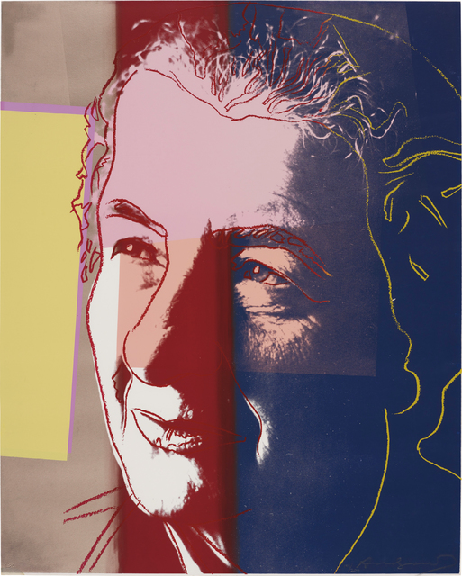 Andy Warhol, 'Golda Meir, from Ten Portraits of Jews of the Twentieth Century', 1980, Print, Screenprint in colors, on Lenox Museum Board, the full sheet, Phillips