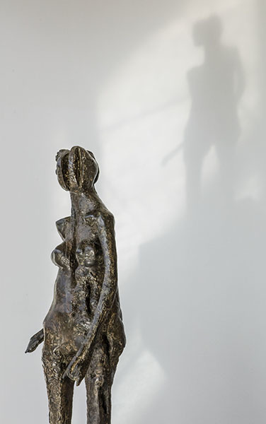 Ralph Brown, Turning Women (detail), 1962, Bronze, Edition of 4, in situ at Ralph Brown & the Figure in the Fifties and Sixties, Pangolin London, 2016