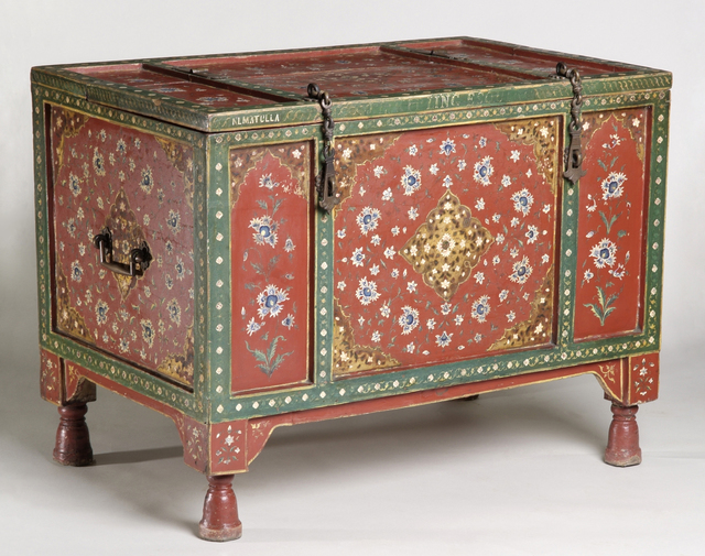 , 'Wedding chest,' ca. 1888, Bard Graduate Center Gallery