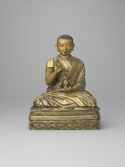 , 'The Fifth Dalai Lama Ngawang Lobzang Gyatso (1617–1682),' 17th century , Rubin Museum of Art