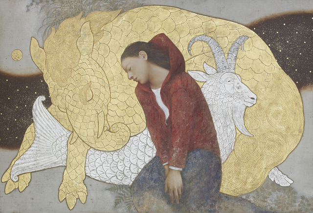 , 'Capricorn,' 2017, Whitestone Gallery