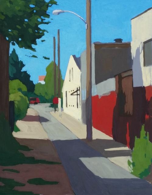 , 'Looking Back,' 2017, Cerulean Arts