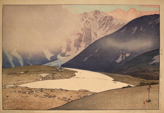 , 'Tateyama Betsuzan,' 1926, Ronin Gallery