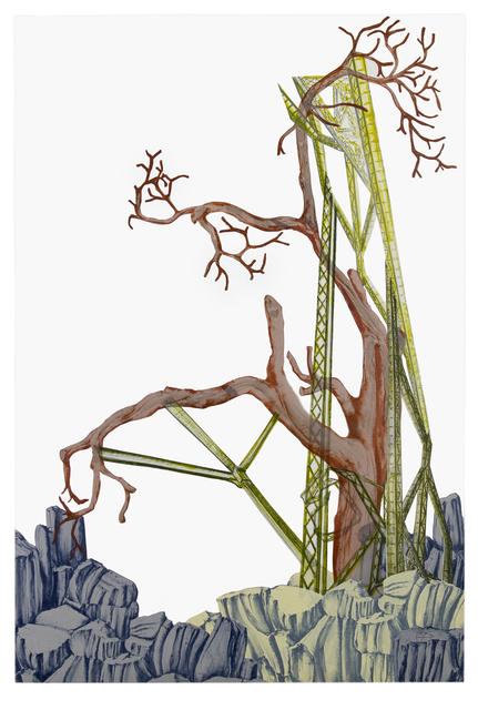 , 'Parasites, Prosthetics, Parallels, and Partners (3),' 2017, Elizabeth Leach Gallery
