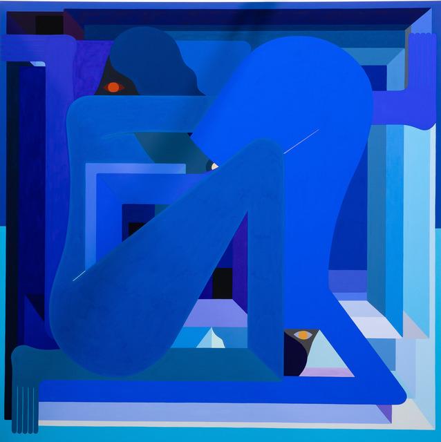 , 'LA Painting (blue),' 2018, Gastman