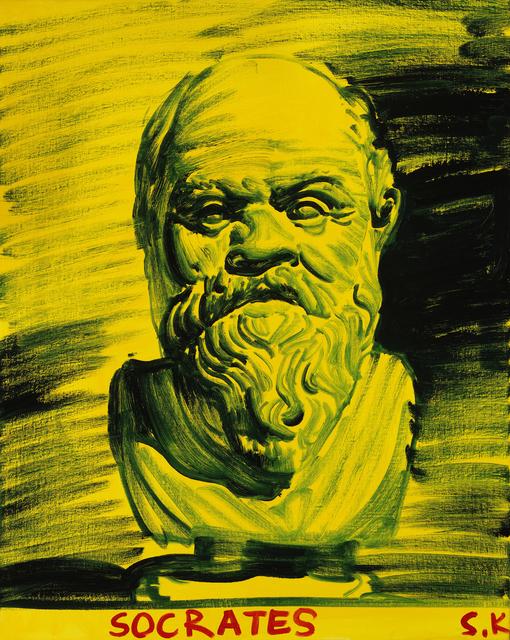 , 'Socrates,' 2016, Cob