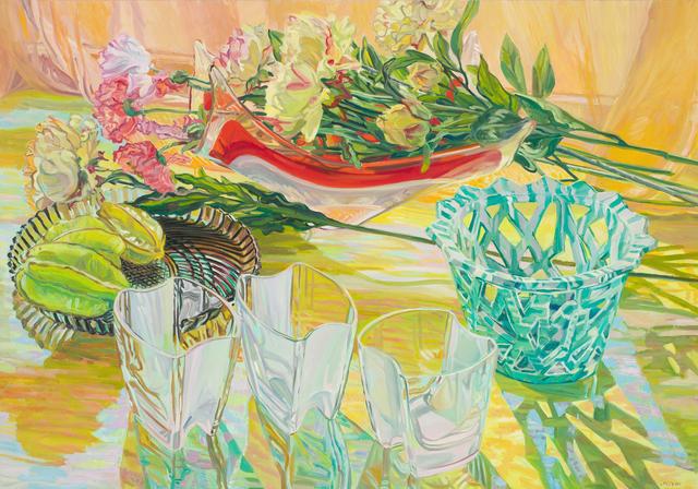Janet Fish, 'Lattice Vase', 2001, DC Moore Gallery