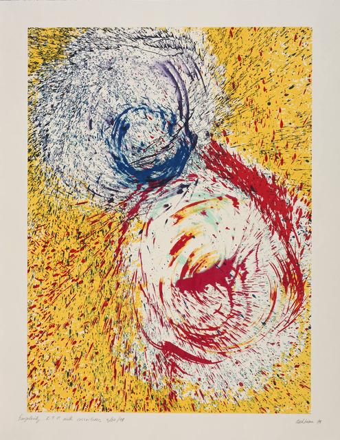 Dorothea Rockburne, 'Singularity', 1999, Gemini G.E.L. at Joni Moisant Weyl