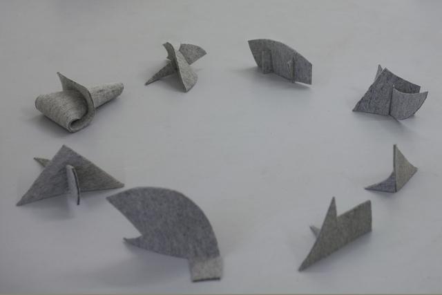 , 'Peixes voadores,' 2014, Galerie Emmanuel Hervé