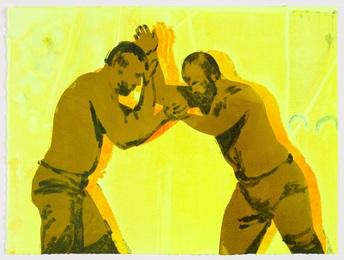 The Dancing Shadows (yellow)