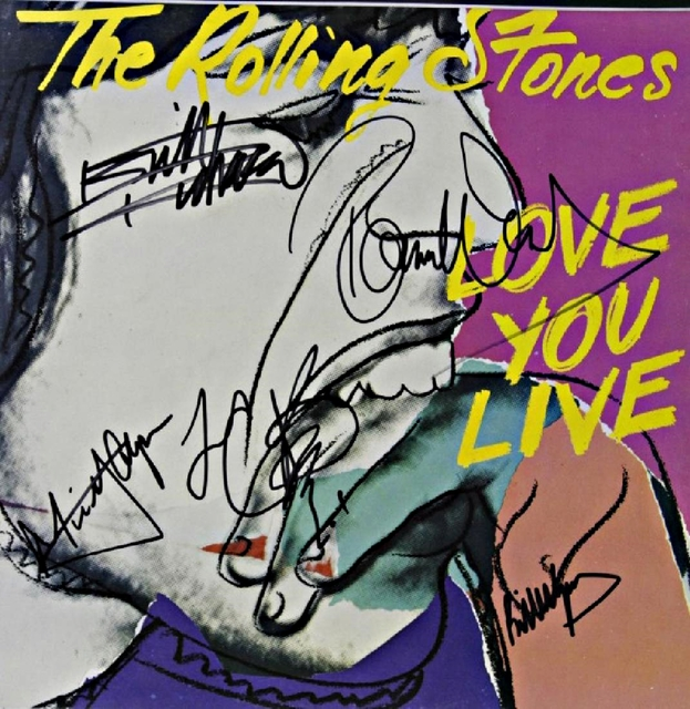 Andy Warhol, 'Love You Live (Signed by all Five Rolling Stones)', 1977, Alpha 137 Gallery