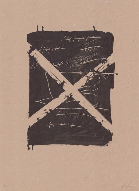 Antoni Tàpies, 'Llambrec material VIII', 1970-1980, ARTEDIO