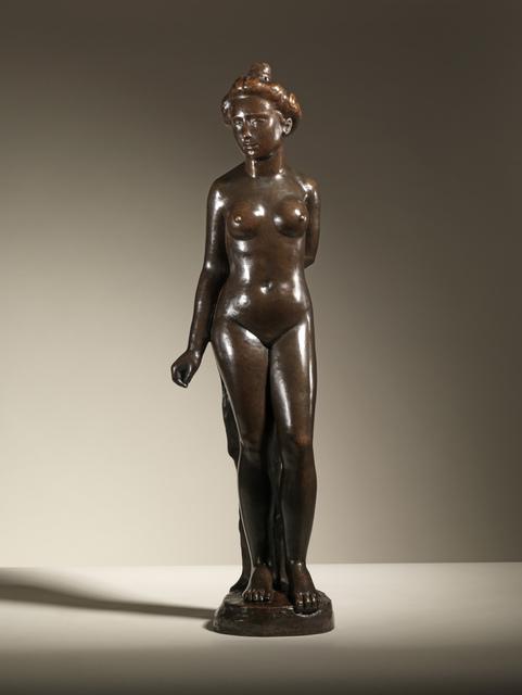 Aristide Maillol, 'Standing Bather', ca. 1901, Sculpture, Bronze, Sladmore