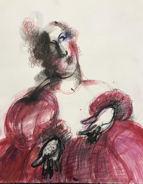"Manuela Holban, '""Venetian Courtesan""', 2018, Adah Rose Gallery"