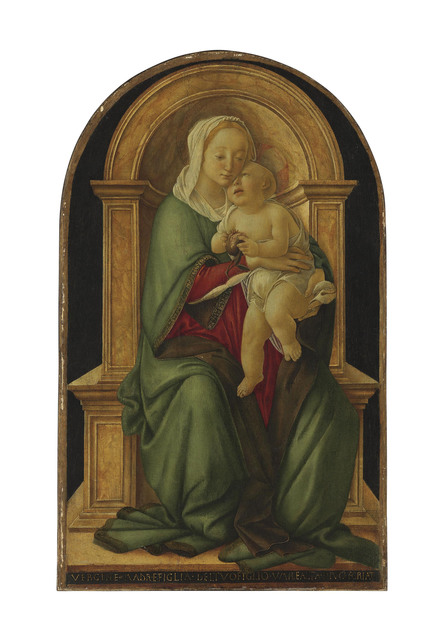 , 'The Madonna and Child with a pomegranate,' , Christie's Old Masters