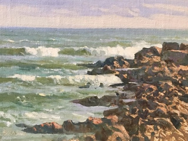 Mark Shasha, 'Rockport Rollers', 2019, Painting, Oil, The Galleries at Salmagundi