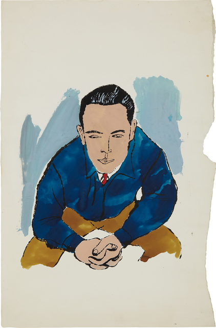 Andy Warhol, 'Seated Male', 1957, Phillips