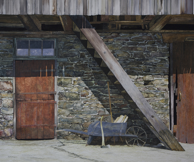 Peter Sculthorpe, 'Summer's Rest', 2018, Painting, Watercolor on mounted rag, Somerville Manning Gallery