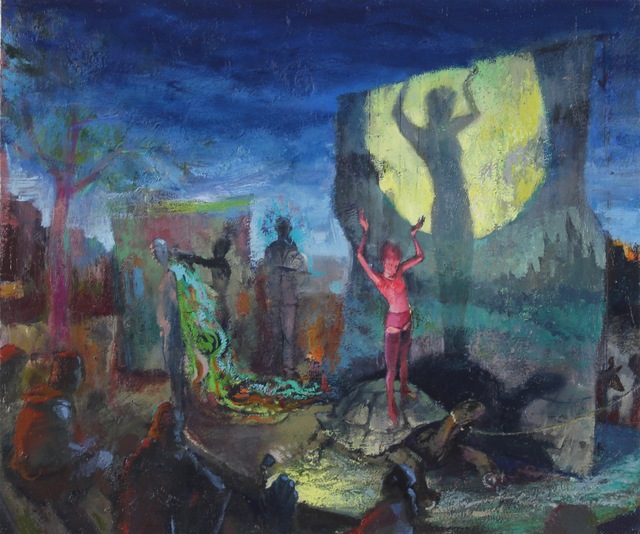 , 'Blondine's Rehearsal,' 2017, Alpha Gallery