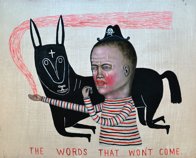 , 'The Words That Won't Come,' 2017, Koplin Del Rio