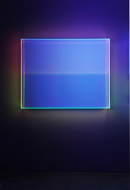 , 'color rainbow soft green orange,' 2018, Galerie Judith Andreae