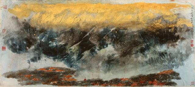 , 'Wind in Pine Trees ,' 2015, NanHai Art