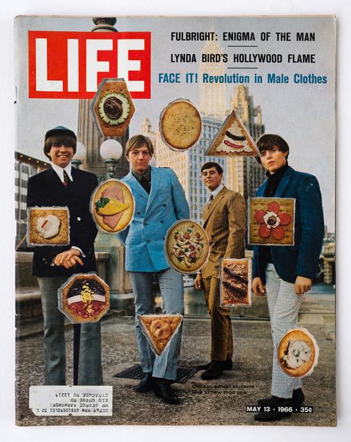 , 'LIFE  Cutout  No.  003  (May  13,  1966,  Male  Clothes  Canapés),' 2018, Luis De Jesus Los Angeles