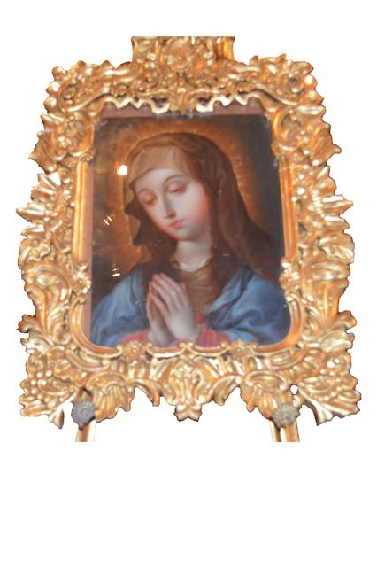 , 'Virgen,' Siglo XVIII, Mario Uvence