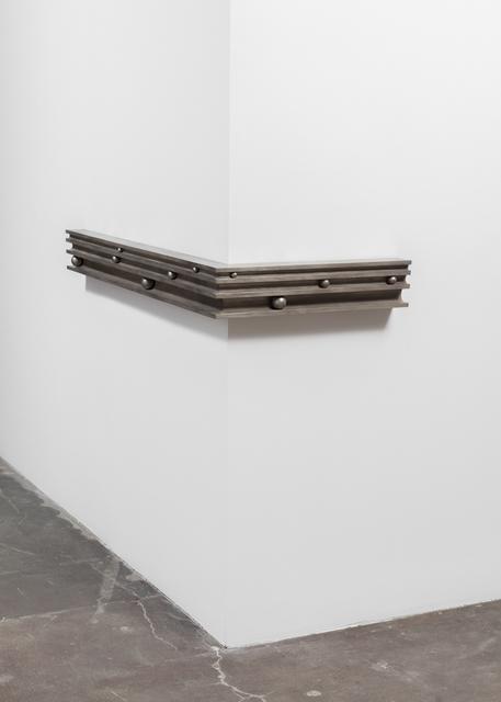 , 'Molding Study, exterior corner (for R.M.),' 2017, Maccarone