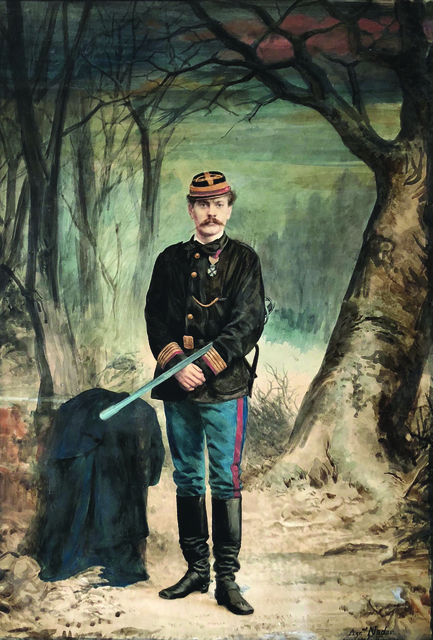 Nadar, 'Charles-Albert Costa de Beauregard in Military Uniform with Sword', 1871, Contemporary Works/Vintage Works