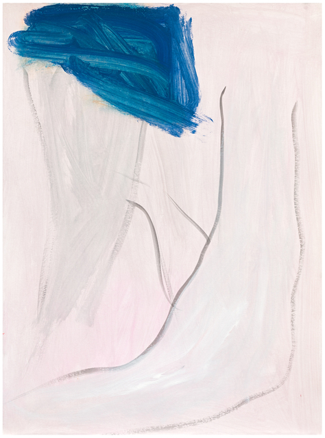 Jongsuk Yoon, 'River', 2019, Drawing, Collage or other Work on Paper, Gouache and water color on paper, Galerie nächst St. Stephan Rosemarie Schwarzwälder