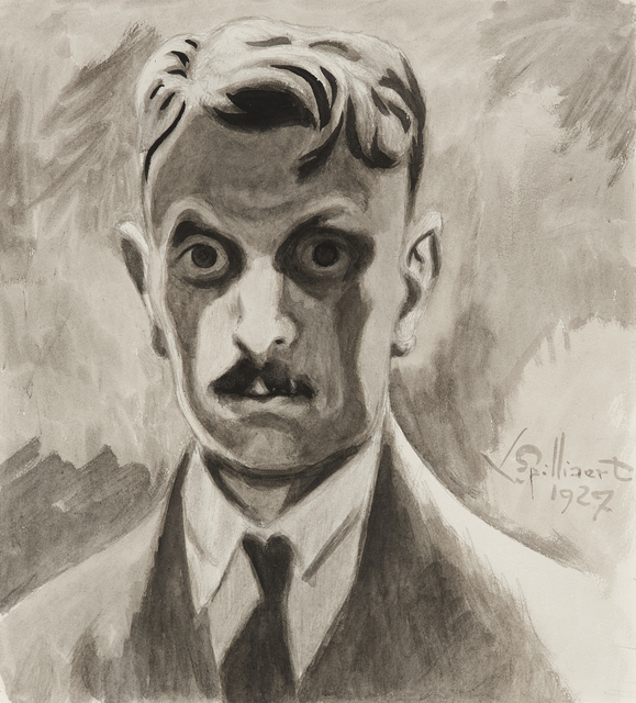 , 'Self portrait,' 1927, Mireille Mosler Ltd.